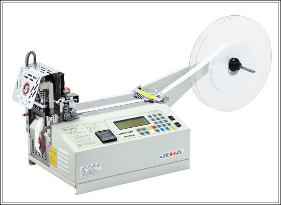 Paela tükeldamismasin JEMA JM-120LR, Automatic tape cutting machine, hot knife and cold knife (straight cut)