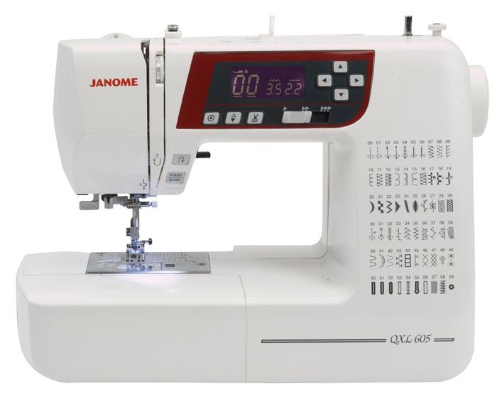Õmblusmasin JANOME QXL605 (3160 QDG)
