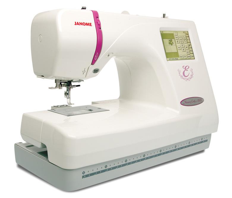 Tikkimismasin JANOME Memory Craft 350E