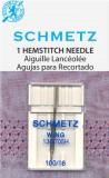 SCHMETZ kodu-õmblusmasina pilutusnõel 130/705 H WING, 1×100
