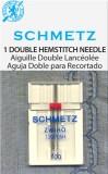 SCHMETZ kodu-õmblusmasina topelt pilutusnõelad 130/705 H ZWIHO