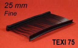 Tekstiilipüstoli kinnitusniit TEXI 75 PPF BLACK 25mm