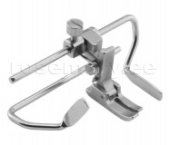 Piirajaga presstald P723-NF, Needle feed foot with right and left gauges