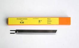 Püstnoa lõiketera KM-EU BS, Straight knife blade