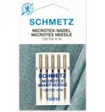SCHMETZ kodu-õmblusmasina microtex nõelad 130/705 H-M, 5×100