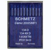 Õmblusmasina nõel 134D, 134 KKD, 135×8 TRI, PFx134D, SCHMETZ sewing machine needle