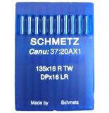 Õmblusmasina nõel 135×16 R TW, DPx16 LR, SCHMETZ sewing machine needle