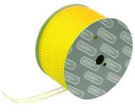 Tekstiilimasina kinnitusniit S-25 Yellow (Plastic staple fasteners)
