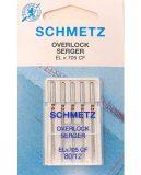 SCHMETZ kodu-kattemasina nõelad trikotaažile ELx705 SUK CF Nr. 80, needles for cover chainstitch machine