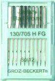 GROZ-BECKERT trikotaaži nõelad kodumasinale 130/705 H FG, Nr.80