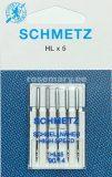 SCHMETZ kodu-õmblusmasina nõelad HL x 5, 5×90