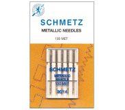SCHMETZ kodu-õmblusmasina nõelad metallniidile 130 MET, 5×90