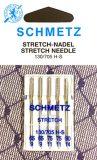 SCHMETZ lükra nõelad kodumasinale 130/705 H-S, Assortii 5 nõela pakis Nr. 2X65, 2×75, 1×90